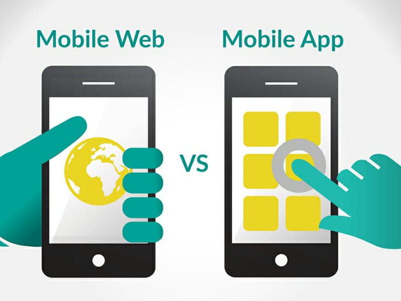 Mobile website vs app