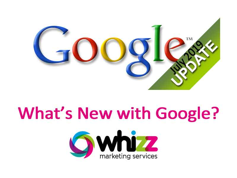 Whats new with Google July 19