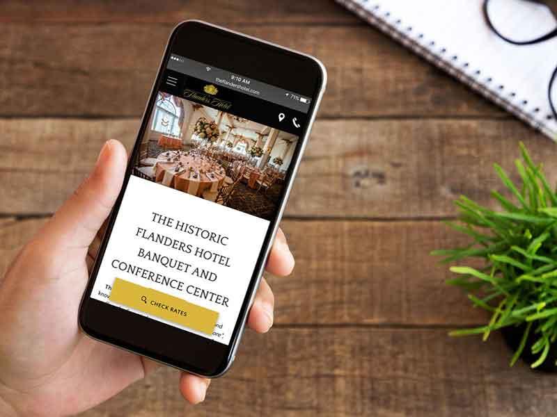 Mobile optmised website SEO Hampshire