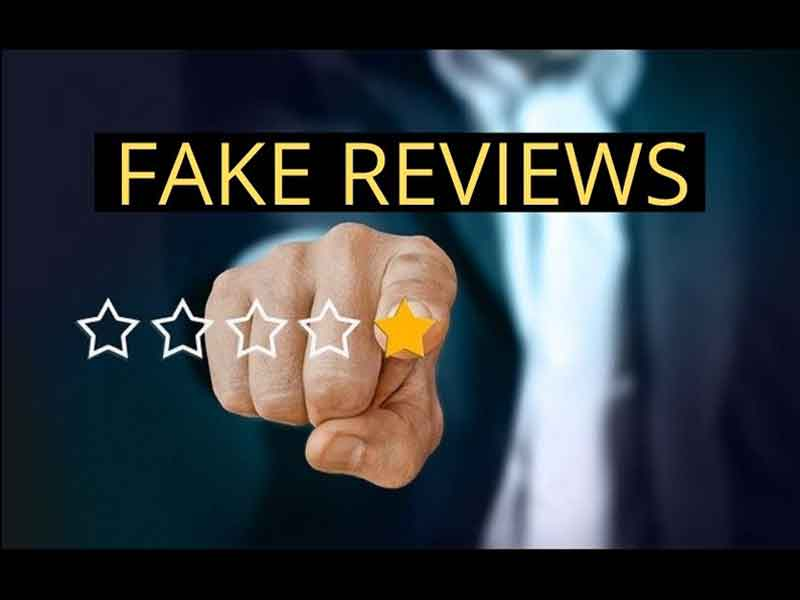 Targeted by fake reviews